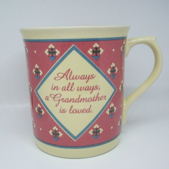 VTG 1987 Hallmark Grandmother Coffee Mug